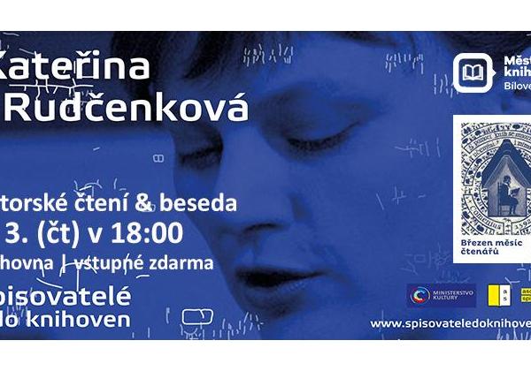 Spisovatelé do knihoven: Kateřina Rudčenková