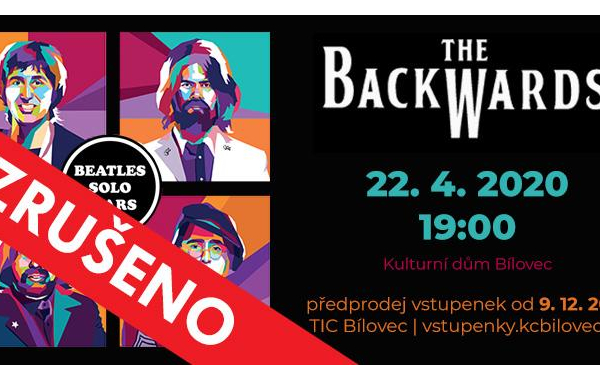 The Backwards: World Beatles Show v programu BEATLES SOLO YEARS - ZRUŠENO