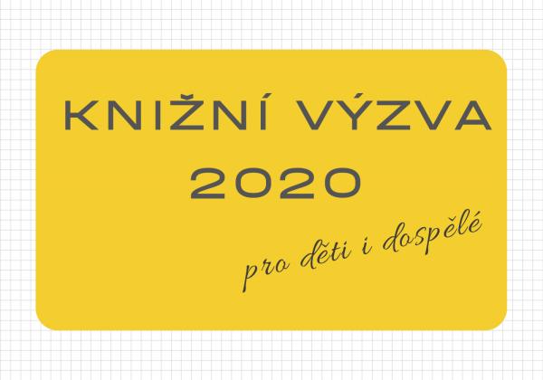 KNIŽNÍ VÝZVA 2020 pro děti i dospělé
